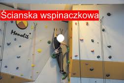 Ścianka wspinaczkowa MOSiR Lubaczów